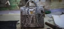 How The Snakeskin Purse Gets Made